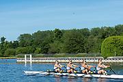 Henley on Thames, England, United Kingdom,  Saturday, 22/06/2019, Henley RC, Junior 4X, Henley Women's Regatta, Henley Reach,  Karon PHILLIPS/Intersport Images,<br /> <br /> 09:03:08