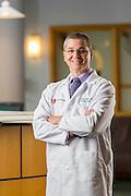 Portrait of Gary Dinger at Elyria Medical Center on July 7, 2015.