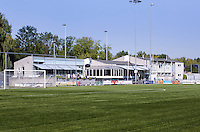 DELFT - Het clubhuis, Golfclub Concordia. Hier zit ook een voetbal, cricket, korfbal bij.FOTO KOEN SUYK