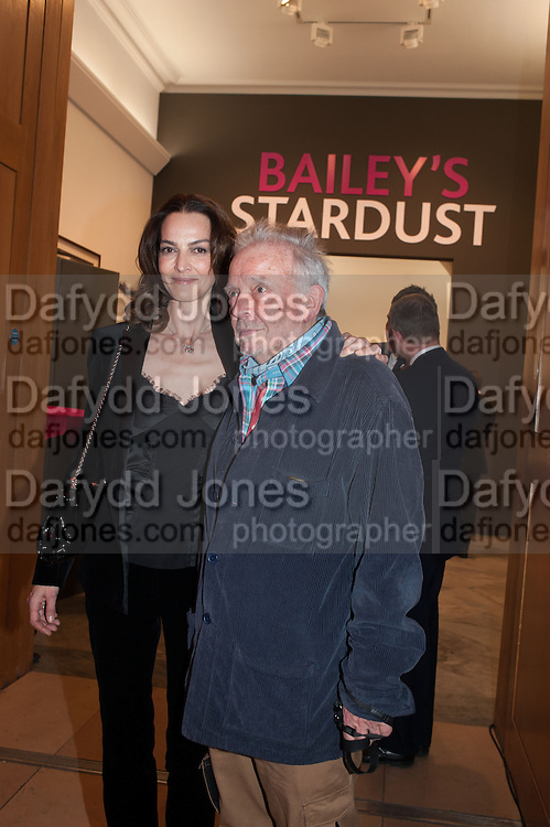 CATHERINE BAILEY; DAVID BAILEY, Opening of Bailey's Stardust - Exhibition - National Portrait Gallery London. 3 February 2014