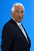 Meeting of NATO Heads of State and/or Government<br /> Brussels, Belgium -  Official portrait in the Agora<br /> <br /> On the photo:   Portuguese Prime Minister Antonio Costa