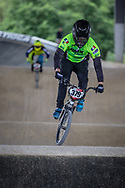 #379 (DEMONTROND Ian) FRA at Round 5 of the 2019 UCI BMX Supercross World Cup in Saint-Quentin-En-Yvelines, France