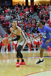 NORMAL, IL - November 06:  Josh Jefferson during a college basketball game between the ISU Redbirds  and the Florida Gulf Coast Eagles on November 06 2018 at Redbird Arena in Normal, IL. (Photo by Alan Look)