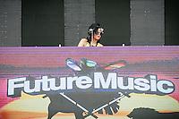Eva T @ Future Music Festival Asia 2014, Kuala Lumpur, Malaysia, 13/03/2014.
