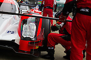 Manor Oreca 05 Nissan with drivers, Tor Graves, Will Stevens, James Jakes | 2016 FIA World Endurance Championship | Silverstone Circuit | England |17 April 2016. Photo by Jurek Biegus.