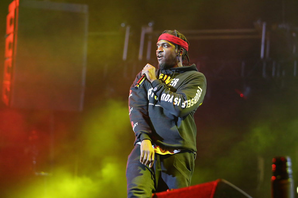Pusha T performs at the 2017 BET Experience at The Staples Center on Thursday June 22, 2017, in Los Angeles. (Photo by Los Angeles/Invision/AP)