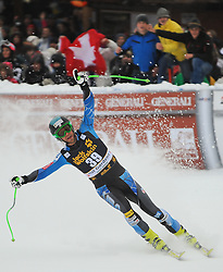 15-12-2012 SKIEN: FIS WORLDCUP AFDALING: VAL GARDENA<br /> Steven Nyman (USA, Platz 1) in action during the Downhill of the FIS Ski Alpine Worldcup at the Sasslong course<br /> ***NETHERLANDS ONLY***<br /> ©2012-FotoHoogendoorn.nl