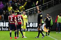 Jordan VERETOUT / Wilfried BIEN - 31.01.2015 - Nantes / Lille - 23eme journee de Ligue 1 -<br />Photo : Vincent Michel / Icon Sport