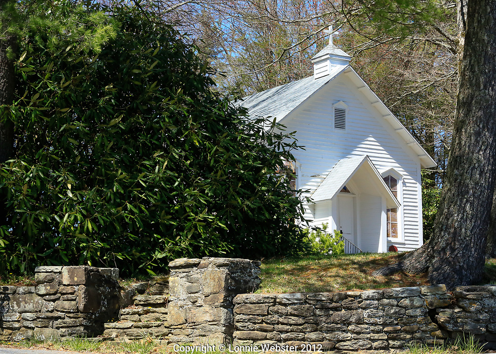 Mount Bethel Church in the Spring