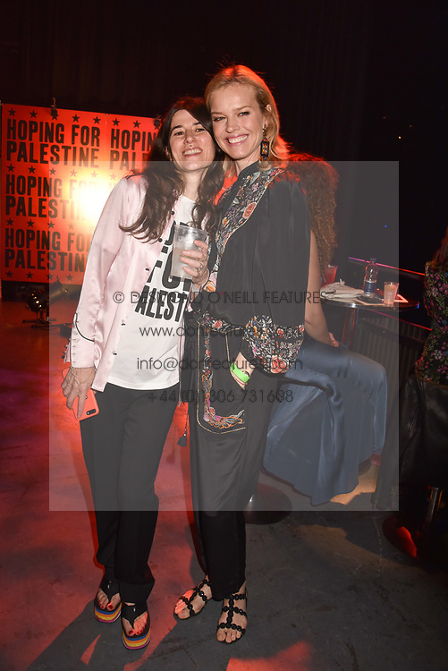 "Bella Freud and Eva Herzigova at ""Hoping For Palestine"" Benefit Concert For Palestinian Refugee Children held at The Roundhouse, Chalk Farm Road, England. 04 June 2018. <br /> Photo by Dominic O'Neill/SilverHub 0203 174 1069/ 07711972644 - Editors@silverhubmedia.com"