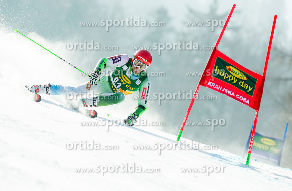 ZERAK Misel of Slovenia competes in 1st Run during Men Giant Slalom race of FIS Alpine Ski World Cup 54th Vitranc Cup 2015, on March 14, 2015 in Kranjska Gora, Slovenia. Photo by Vid Ponikvar / Sportida