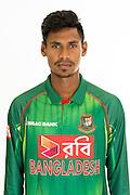 Mustafizur Rahman, Bangladesh cricket team headshots ahead of their New Zealand tour. Cobham Oval, Whangarei. 21 December 2016. Copyright Image: Heath Johnson / www.photosport.nz