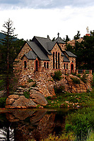 St. Catherine Chapel on the Rock at St. Malo in Colorado