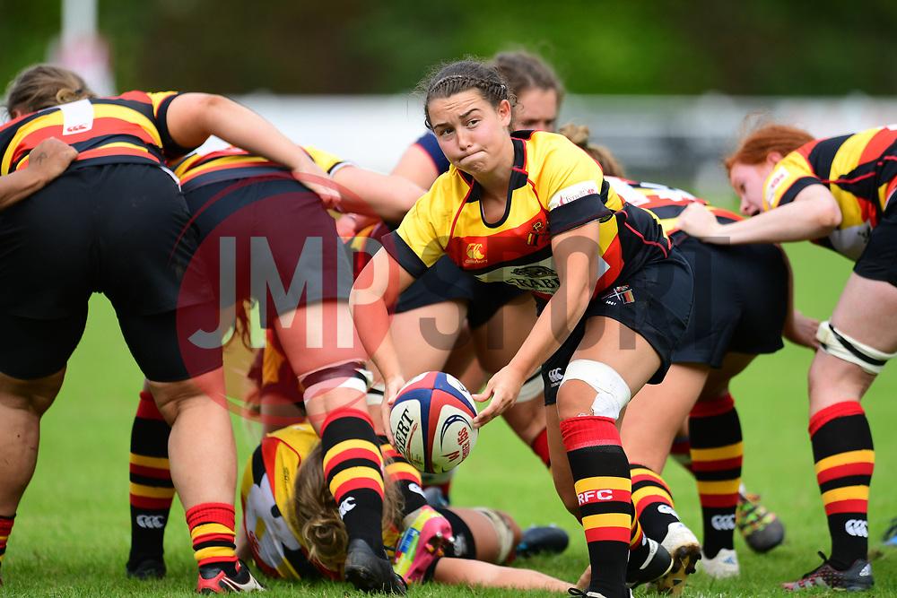 Charlotte Keane of Richmond ladies in action - Mandatory by-line: Craig Thomas/JMP - 17/09/2017 - Rugby - Cleve Rugby Ground  - Bristol, England - Bristol Ladies  v Richmond Ladies - Women's Premier 15s