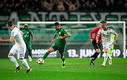 Rok Kronaveter of Olimpija during Football match between NK Olimpija and NK Maribor in 23rd Round of Prva liga Telekom Slovenije 2018/19 on March 16, 2019, in SRC Stozice, Ljubljana, Slovenia. Photo by Vid Ponikvar / Sportida