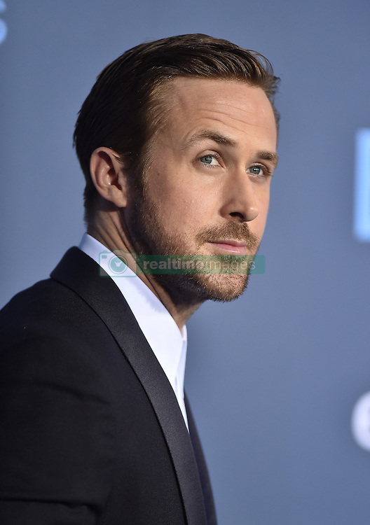 Ryan Gosling attends the 22nd Annual Critics' Choice Awards at Barker Hangar on December 11, 2016 in Santa Monica, Los Angeles, CA, USA. Photo By Lionel Hahn/ABACAPRESS.COM
