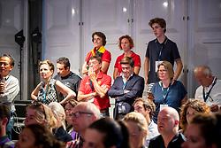 Desmedt Eddy, Detry Stefan, Laeremans Wendy, Vereeche Evi, BEL<br /> European Championship Jumping<br /> Rotterdam 2019<br /> © Dirk Caremans