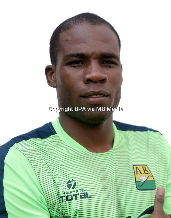 Colombia League - Liga Aguila 2015-2016 - <br /> Club Atletico Bucaramanga - Colombia / <br /> Andres Mosquera Marmolejo