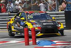 June 23, 2018 - Vila Real, Vila Real, Portugal - Denis Dupont from Belgium in Audi RS 3 LMS of Audi Sport Team Comtoyou during the Race 1 of FIA WTCR 2018 World Touring Car Cup Race of Portugal, Vila Real, June 23, 2018. (Credit Image: © Dpi/NurPhoto via ZUMA Press)