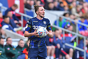 Luke Ayling (2)  of Leeds United during the EFL Sky Bet Championship match between Bristol City and Leeds United at Ashton Gate, Bristol, England on 9 March 2019.