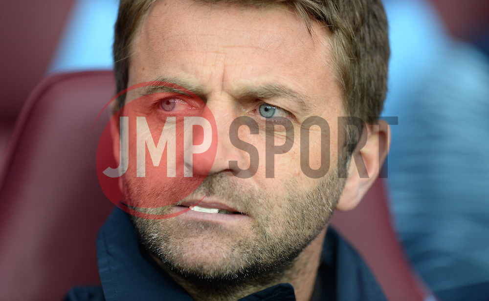 Aston Villa Manager, Tim Sherwood - Photo mandatory by-line: Alex James/JMP - Mobile: 07966 386802 - 02/05/2015 - SPORT - Football - Birmingham - Villa Park - Aston Villa v Everton - Barclays Premier League