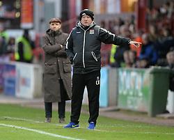 Northampton Town Manager, Chris Wilder - Photo mandatory by-line: Alex James/JMP - Mobile: 07966 386802 - 10/01/2015 - SPORT - football - Exeter - St James Park - Exeter City v Northampton - Sky Bet League Two