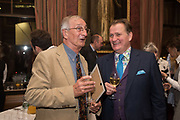 HUGH PIKE; JAMES PEMBROKE, Oldie magazine Christmas party, The Garrick club. Covent Garden, London, 4 December 2018