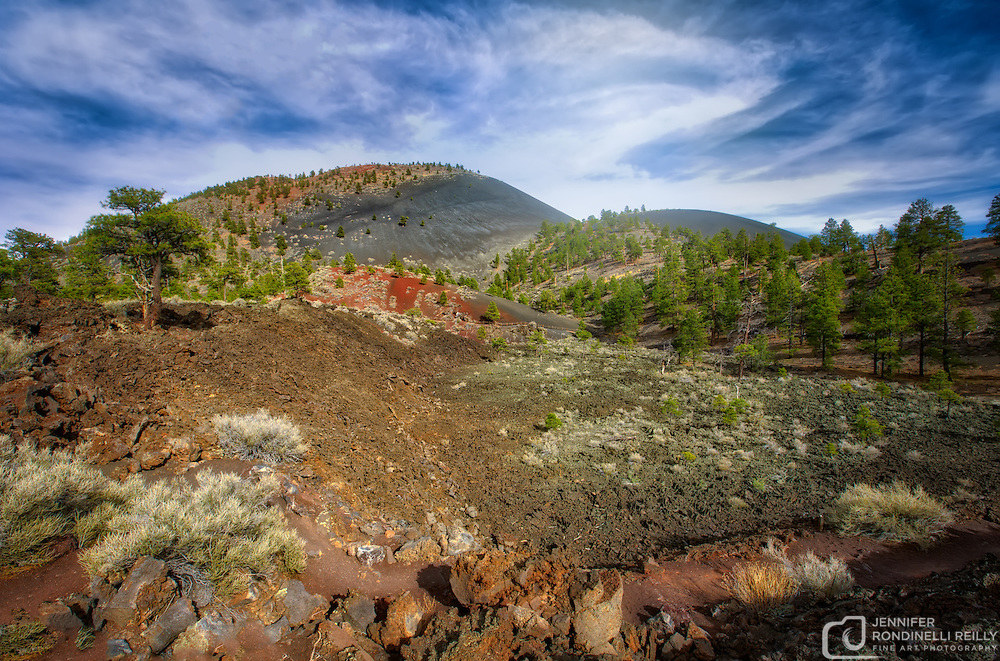 Just north of Flagstaff lies Sunset Crater Volcano National Monument.