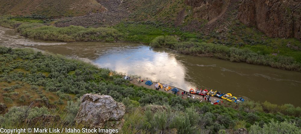 White Water rafting on the Lower Owyhee River.