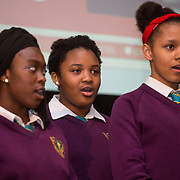 18.05.2016<br /> Limerick Institute of Technology (LIT) hosted a celebration of community and voluntary engagement in the LIT Millennium Theatre for the GO4IT & Give Graduation ceremony.<br /> <br /> Performing at the event was Salesian Secondary School Choir. Picture: Alan Place/Fusionshooters