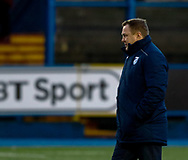 Head Coach John Mulvihill of Cardiff Blues during the pre match warm up<br /> <br /> Photographer Simon King/Replay Images<br /> <br /> Guinness PRO14 Round 14 - Cardiff Blues v Connacht - Saturday 26th January 2019 - Cardiff Arms Park - Cardiff<br /> <br /> World Copyright © Replay Images . All rights reserved. info@replayimages.co.uk - http://replayimages.co.uk