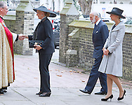 11.09.2014;London, England: PRINCE AND PRINCESS MICHAEL OF KENT AND DAUGHTER LADY GABRIELLA WINDSOR <br /> attend the Memorial Service for Mark Shand at St Paul's Knightsbridge,London.<br /> Mark, Camilla's brother died in New York earlier this year.<br /> Mandatory Photo Credit: &copy;Francis Dias/NEWSPIX INTERNATIONAL<br /> <br /> **ALL FEES PAYABLE TO: &quot;NEWSPIX INTERNATIONAL&quot;**<br /> <br /> PHOTO CREDIT MANDATORY!!: NEWSPIX INTERNATIONAL(Failure to credit will incur a surcharge of 100% of reproduction fees)<br /> <br /> IMMEDIATE CONFIRMATION OF USAGE REQUIRED:<br /> Newspix International, 31 Chinnery Hill, Bishop's Stortford, ENGLAND CM23 3PS<br /> Tel:+441279 324672  ; Fax: +441279656877<br /> Mobile:  0777568 1153<br /> e-mail: info@newspixinternational.co.uk