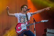 The Vaccines play the Obelisk stage - The 2018 Latitude Festival, Henham Park. Suffolk 14 July 2018