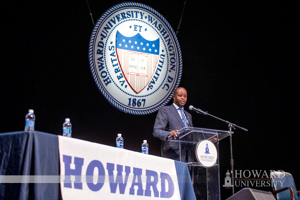 Howard vs. Hampton debate, More than a Game, debate, President Frederick, Cramton Auditorium, Wayne A. I. Frederick