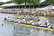 Henley, Great Britain. University Barge Club USA. led home Upper Thames RC.  in a round of the Thames Challenge Cup.. Henley Royal Regatta, 2011 Henley Royal Regatta. River Thames Henley Reach.  Thursday   30/06/2011  [Mandatory Credit Peter Spurrier/ Intersport Images] . HRR