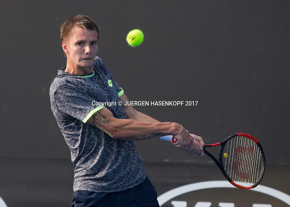 ALEXANDER BUBLIK (RUS)<br /> <br /> Australian Open 2017 -  Melbourne  Park - Melbourne - Victoria - Australia  - 16/01/2017.