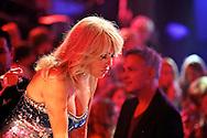 HILVERSUM - In Studio 24 is de vierde halve finale van Hollands Got Talent geweest.  Met op de foto jurylid Patricia Paay. FOTO LEVIN DEN BOER - PERSFOTO.NU