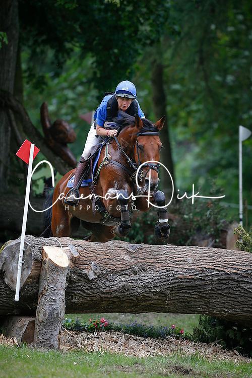 Donckers Karin (BEL) - Lady Brown<br /> CIC 2* Arville 2013<br /> &copy; Dirk Caremans