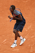 Roland Garros. Paris, France. May 31st 2008..Gael MONFILS against Jurgen MELZER..3rd Round...