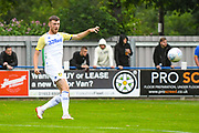 Leeds United Ryan Edmondson (14) warming up during the Pre-Season Friendly match between Tadcaster Albion and Leeds United at i2i Stadium, Tadcaster, United Kingdom on 17 July 2019.