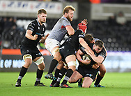 Ospreys' Sam Parry<br /> <br /> Photographer Mike Jones/Replay Images<br /> <br /> Guinness PRO14 Round Round 15 - Ospreys v Southern Kings - Friday 16th February 2018 - Liberty Stadium - Swansea<br /> <br /> World Copyright © Replay Images . All rights reserved. info@replayimages.co.uk - http://replayimages.co.uk