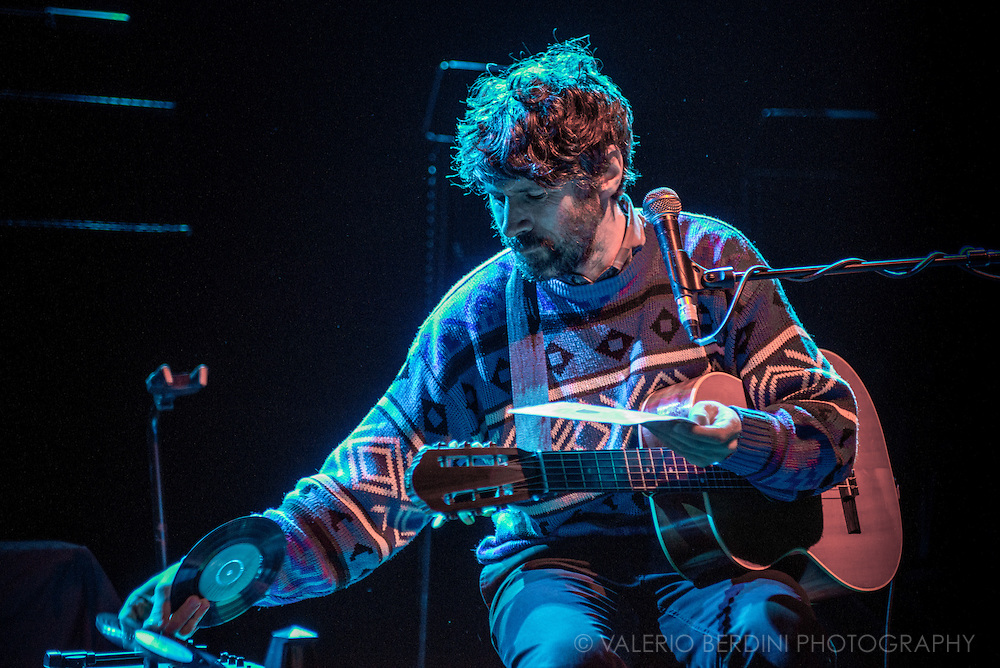 Gruff Rhys opening for Yo La Tengo at London Shepherd's Bush Empire on 20 October 2015