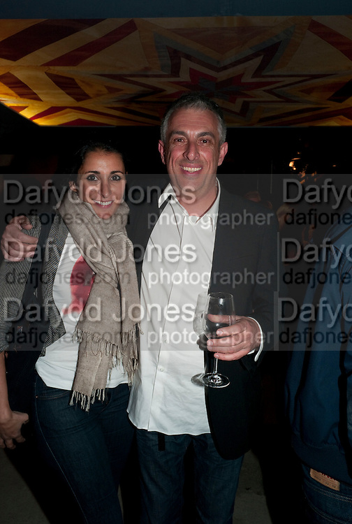 SERENA REES; RIFAT OSBEC, Early launch of Rupert's. Robin Birley  new premises in Shepherd Market. 6 Hertford St. London. 10 June 2010. .-DO NOT ARCHIVE-© Copyright Photograph by Dafydd Jones. 248 Clapham Rd. London SW9 0PZ. Tel 0207 820 0771. www.dafjones.com.