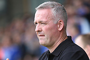 Ipswich Town manager Paul Lambert during the EFL Sky Bet League 1 match between Burton Albion and Ipswich Town at the Pirelli Stadium, Burton upon Trent, England on 3 August 2019.