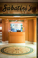 Sabatini's Restaurant. From aboard the M/V Ruby Princess sailing from Ft. Lauderdale to Princess Cays, Bahamas.