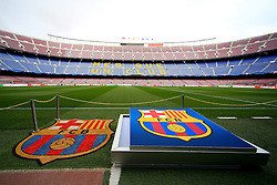 A general view of the Nou Camp Stadium - Mandatory byline: Matt McNulty/JMP - 16/03/2016 - FOOTBALL - Nou Camp - Barcelona,  - FC Barcelona v Arsenal - Champions League - Round of 16