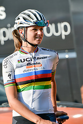 July 17, 2018 - Le Grand Bornand, France - Chantal Blaak championne du monde de cyclisme feminin 2017 (Credit Image: © Panoramic via ZUMA Press)