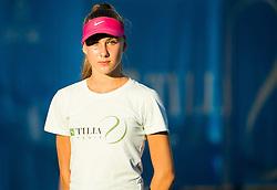 Ball girl during Doubles 1st Round of ATP Challenger Tilia Slovenia Open 2016, on August 8, 2016 in Portoroz/Portorose, Slovenia. Photo by Vid Ponikvar / Sportida