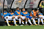 SYDNEY, NSW- NOVEMBER 15: The shattered bench of Honduras after they go down 3-1 at the Soccer World Cup Qualifier between Australia and Honduras on November 10, 2017. (Photo by Steven Markham/Icon Sportswire)