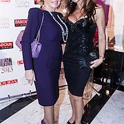NLD/Amsterdam/20131111 - Beau Monde Awards 2013, Yvonne Dubbelboer en ...................